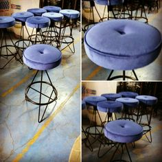 Metal Stool, Metal Chairs, Cafe Furniture, Metal Furniture, Bar Stools, Rest, Design, Home Decor, Metal Cafe Chairs