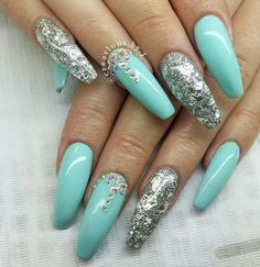 Turquoise, lovely.