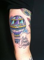 Such great heights hot air balloon by AliciaQuinby