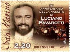 2010 - 75° anniversario della nascita di Luciano Pavarotti