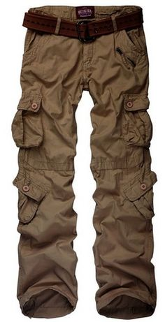 Petite Cargo Utility Pants with 8 pockets