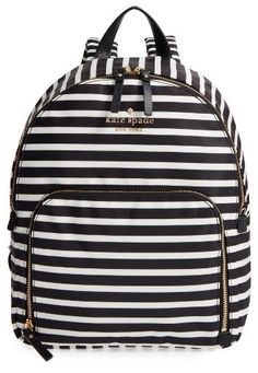 820948239adce1 Kate Spade New York Watson Lane - Hartley Nylon Backpack - Black Affiliate  Kate Spade Diaper
