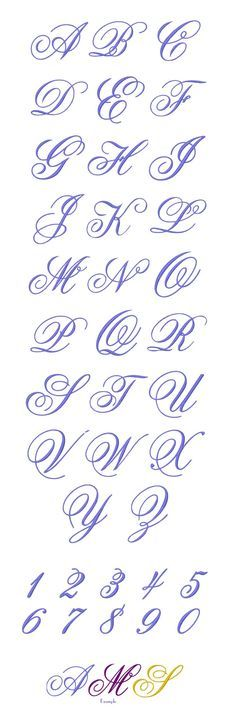 MONOGRAM Embroidery Designs Free Embroidery Design Patterns Applique #calligraphy