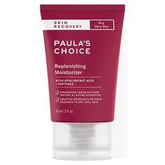 Paula's Choice Skin Recovery Replenishing Moisturizer - Top-Trends Anti Aging Moisturizer, Moisturizer For Dry Skin, Skin Care Regimen, Skin Care Tips, Best Skin Cream, Eye Cream, Dry Skin On Face, Dull Skin
