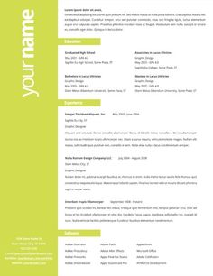 CV Design by Gabym