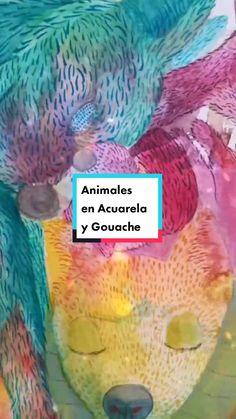Litca(@litca.art) on TikTok: Acuarela y Gouache #litcaart #art #watercolor #venezuelanartist #painting #gouache #artist #10kartist #animals Gouache, Painting, Fish, Watercolor, Pets, Artist, Artwork, Animals, Design