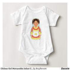 Father Chile Dad I LOVE MY CHILEAN DADDY Fun Themed Baby Grow Suit