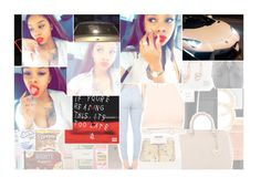 """thirsty, bαby bring it over here. ching, ching, gettin' pαid over here"" by asvpcocaine ❤ liked on Polyvore"