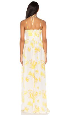 Shop for Amanda Uprichard Rio Maxi Dress in Yellow Rose at REVOLVE. Free 2-3 day shipping and returns, 30 day price match guarantee.