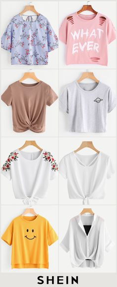 clothes for women Girls Fashion Clothes, Teen Fashion Outfits, Mode Outfits, Outfits For Teens, Trendy Fashion, Fall Outfits, Girl Fashion, Summer Outfits, Crop Top Outfits