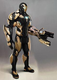 Iron Man Avengers, Marvel Avengers, Nail Bat, Mode Cyberpunk, Marvel Concept Art, Iron Man Art, Iron Man Wallpaper, Ironman, Marvel Comics Art
