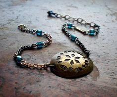Ethnic Disc Bracelet by dorijenn on Etsy, $31.00
