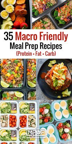 35 Macro Friendly Meal Prep Recipes - Meal Prep on Fleek™