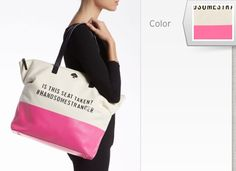 "Kate Spade ""call to action"" bag"