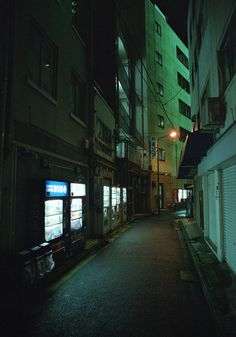 Eerie Photos Take You Down Chinas NeonLit Alleyways Landscape - City streets glow in eerie night time photographs by andreas levers