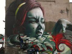Bristol graffiti Upfest 2012