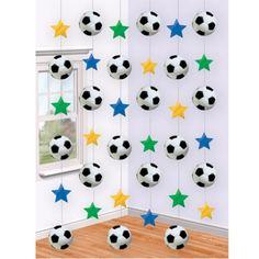 Decoracion colgante futbol - Deportes - Fiestas temáticas ...