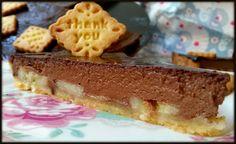 sweet melange: Koláč/Pie z čokolády, zakysané smetany a banánů