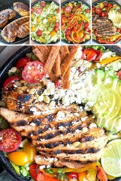 NEW This low carb taco salad is the perfect throw together meal full of healthy veggies delicious toppings and keto dressing! NEW This low carb taco salad is the perfect throw together meal full of healthy veggies delicious toppings and keto dressing! Low Carb Taco Salad, Low Carb Tacos, Low Carb Lunch, Taco Salads, Lunch Recipes, Low Carb Recipes, Salad Recipes, Healthy Recipes, Healthy Dishes