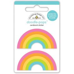 Item:4966 double rainbow doodle-pops