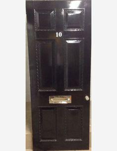 1051 - 6 panel Georgian front door Front Door Makeover, Georgian, Locker Storage, Doors, Home Decor, Decoration Home, Georgian Language, Room Decor, Doorway