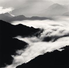 Michael Kenna, Huangshan Mountains, Study 40, Anhui, China, 2010.