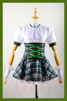 Anime Aikatsu Stars Todo Yurika Cosplay Costume Custom Made Any Size