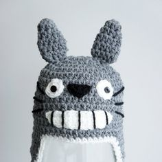 Totoro Crochet Baby Hat by stylishbabyhats, $19.99 (I MUST have this!!!)