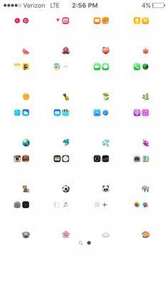 Homescreen, emojis, organize apps on iphone, whats on my iphone, iphone cas Iphone Home Screen Layout, Iphone App Layout, Iphone Homescreen Wallpaper, Wallpaper Iphone Disney, Smartphone, Organize Apps On Iphone, Home Bild, Whats On My Iphone, Emoji Combinations