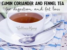 This ancient cumin coriander and fennel tea is great for digestion, reducing bloating or gas, fat loss and increased milk supply.