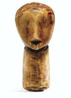 Tête en ivoire, Lega, République Démocratique du Congo | lot | Sotheby's