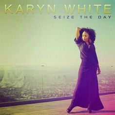 """Karyn White, the original Super Woman Styled by b. Vaughn...""""Seize the Day"""" video shoot!!!"""