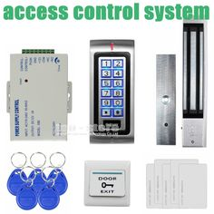 82.98$  Buy now - DIYSECUR 280kg Magnetic Lock 125KHz RFID Password Keypad Access Control System Security Kit + Exit Button K2  #buychinaproducts