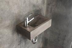 ConSpire Basic Betonnen Wasbak Natuurlijk Beton   Vergelijkprijs.nl Downstairs Toilet, Green Copper, Terrazzo, Wall Mount, Concrete, Bathroom Sinks, Design, Home Decor, Decoration