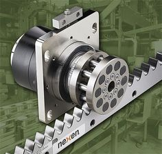Nexen Enhances Roller Pinion System With Increased Torque Capacity