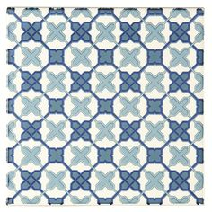 Filigree Blue tiles from the Tapestry collection give a nod to screens and shapes of the past, whilst the crisp blue and bright white hues bring this bang up to date. Mix and match with other designs for an individual look.
