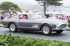 AD'S The Best of the 2013 Pebble Beach Concours d'Elegance. Strother MacMinn Most Elegant Sports Car 1955 Ferrari 250 GT Pinin Farina Berlinetta Speciale.