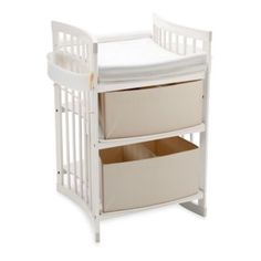 Stokke® Care™ Changing Table in White - BedBathandBeyond.com Of course the front facing one I want is $730