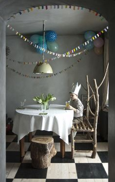 DIY: High-Style, Low-Cost Party Decor : Remodelista