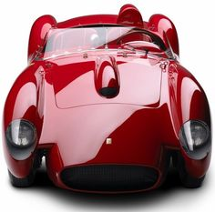 1958 Ferrari 250 Testa Rossa - Ralph Lauren's Car Collection.  I think Ralph and I would get along great on a road trip!