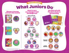PDFs of all Junior Badge sets