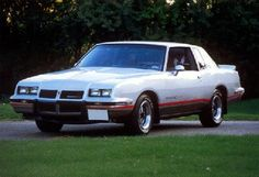 86 Pontiac Grand Prix 2+2 Aerocoupe. Less than 2k made. Could barely get your toothbrush in the trunk.