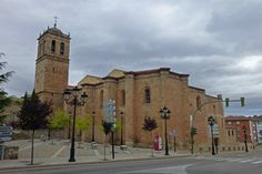 Concatedral de San Pedro en Soria, España.