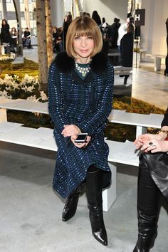 Recreate Anna Wintour's Chic Office Decor, Because From The Looks Of The Sneak Peek, Her New Digs Will Look Pretty Much The Same As Her Old Workspace