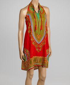 Another great find on #zulily! Red Halter Dress #zulilyfinds