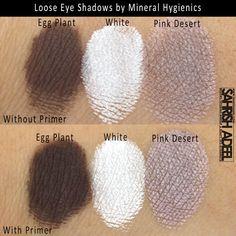 Mineral Hygienics' Loose Eye Shadows