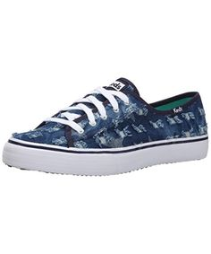 KEDS Keds Women'S Double Up Distressed Denim Fashion Sneaker'. #keds #shoes #sneakers