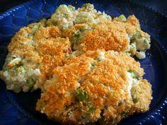 Broccoli and Cauliflower Ricotta Bake