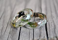 nature inspired engagement rings, nature rings, nature inspired rings, resin ring,moss, moss terrarium, natural moss, resin moss rings, by VyTvir on Etsy https://www.etsy.com/listing/258853960/nature-inspired-engagement-rings-nature