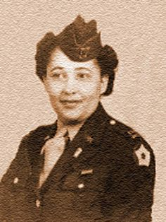 Celebrating Women's History Month,,HERstory,,In 1942, Soror Vera A Harrison Haskin was selected in the first class of African American women to join the Women's Army Auxiliary Corps -WAAC.